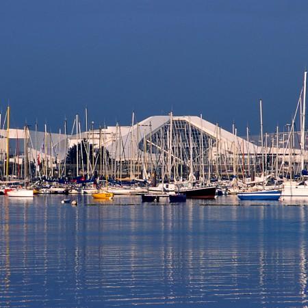 Port de plaisance du Moulin Blanc (© photo : Océanopolis)